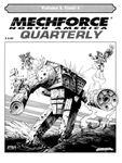 Issue: MechForce Quarterly (Volume 2, Issue 4 - 1996)
