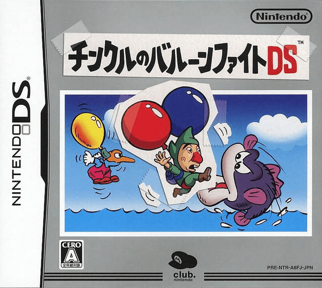 Video Game: Tingle's Balloon Fight