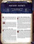 RPG Item: Ancient Hatred