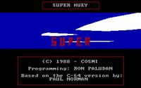 Video Game: Super Huey