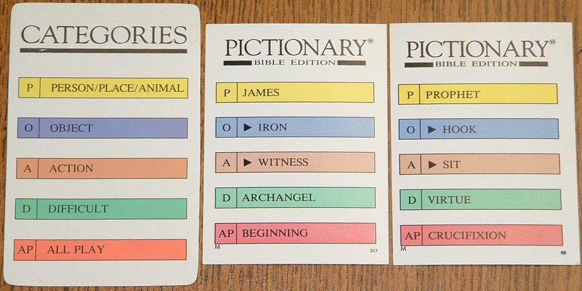 Pictionary: Bible | Image | BoardGameGeek