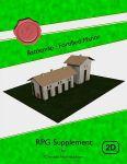 RPG Item: Battlemap: Fortified Manor