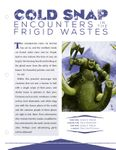 Issue: EONS #90 - Cold Snap: Encounters in the Frigid Wastes