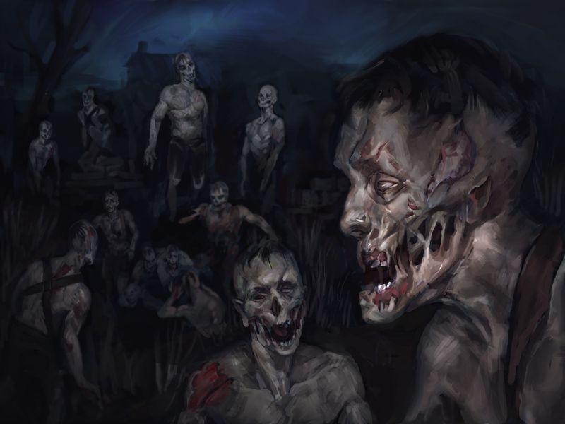 Zombie Horde artwork