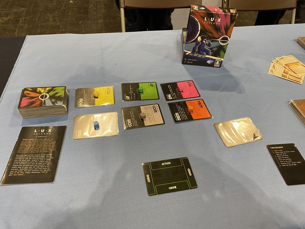 Board Game: Lux Aeterna