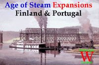 Board Game: Age of Steam Expansion: Finland & Portugal