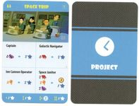 Board Game: The Pursuit of Happiness: Space Trip Promo Card