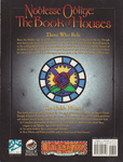 RPG Item: Noblesse Oblige: The Book of Houses