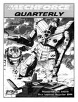 Issue: MechForce Quarterly (Volume 3, Issue 2 - 1997)