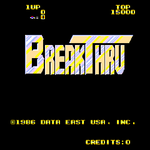 Video Game: BreakThru