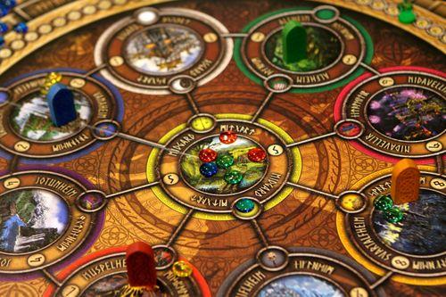 Board Game: Nine Worlds