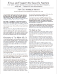 RPG Item: Focus on Freeport #11: Deus Ex Machina, Part One