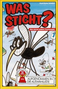 Was sticht? Cover Artwork
