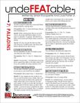 RPG Item: Undefeatable 07: Paladins