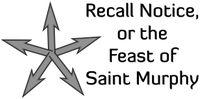 RPG: Recall Notice