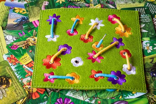 Board Game: Spring on a String