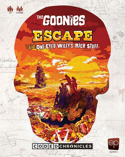 Board Game: The Goonies: Escape With One-Eyed Willy's Rich Stuff – A Coded Chronicles Game