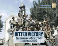 Board Game: Bitter Victory:  The Invasion of Sicily, 1943