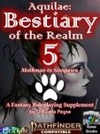 RPG Item: Aquilae: Bestiary of the Realm: Volume 5 (PF2)