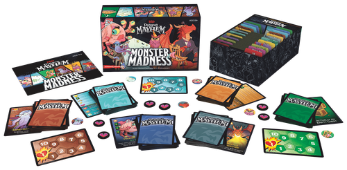 Board Game: Dungeon Mayhem: Monster Madness