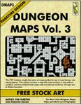 RPG Item: DMAP3: Dungeon Maps Vol. 3