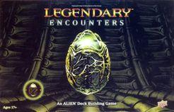 Portada del juego de mesa Legendary Encounters: An Alien Deck Building Game