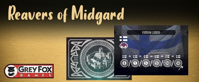 Reavers of Midgard: Dice Tower 2020 Promo Cards