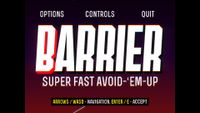 Video Game: Barrier X
