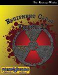 RPG Item: Equipment Cards Volume II
