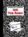 RPG Item: 1001 Item Names
