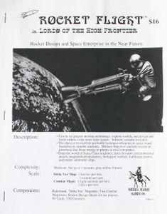 Rocket Flight Cover Artwork