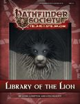 RPG Item: Pathfinder Society Scenario 5-11: Library of the Lion