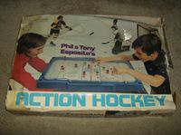 Board Game: Phil and Tony Esposito Action Hockey