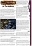 RPG Item: Le Bois de Sang
