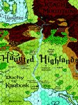 RPG Item: Haunted Highlands Map by Darlene