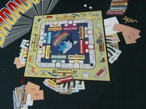 Board Game: The Broadway Game
