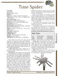 RPG Item: Time Spider