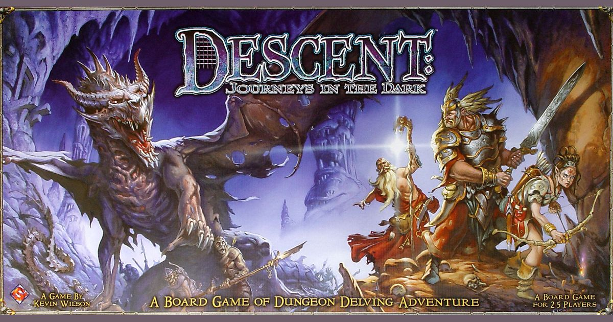 DESCENT Board Game REPLACEMENT Parts PIECES DICE Hero Sheets CAMPAIGN Game Box
