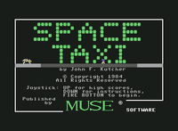 Video Game: Space Taxi