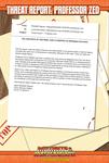 RPG Item: Threat Report #46: Professor Zed