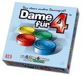 Board Game: Draughts for 4