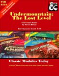 RPG Item: Classic Modules Today: Undermountain the Lost Level