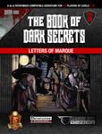 RPG Item: The Book of Dark Secrets Vol. 20: Letters of Marque