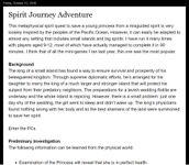 RPG Item: Spirit Journey Adventure