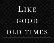 RPG Item: Like Good Old Times