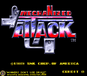 Video Game: Mechanized Attack