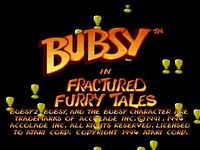Video Game: Bubsy in: Fractured Furry Tales