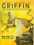 Issue: GRIFFIN (Volume 1, Number 1 - Winter 1984-1985)