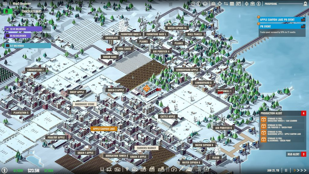Video Game: Rise of Industry