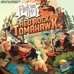 Board Game: Flick 'em Up!: Red Rock Tomahawk
